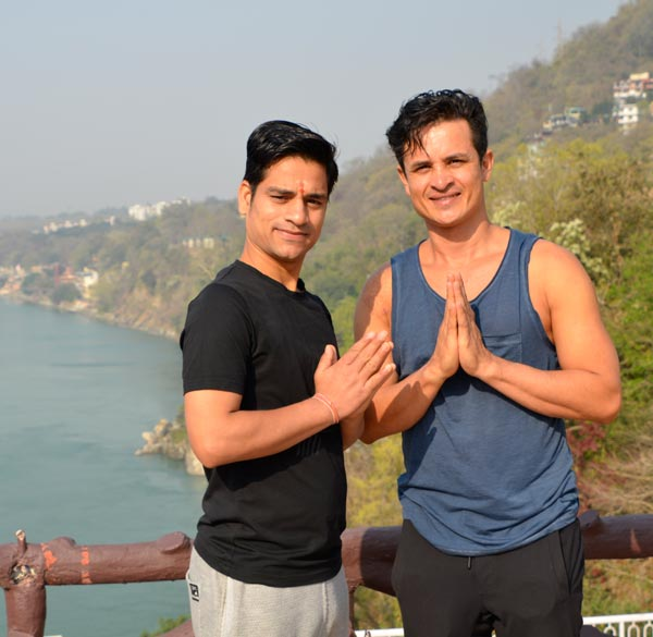 Yoga retreat in India - with my teacher