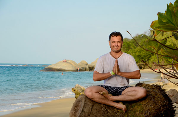 Visiting the Tayrona Park during our Yoga Retreat in Colombia