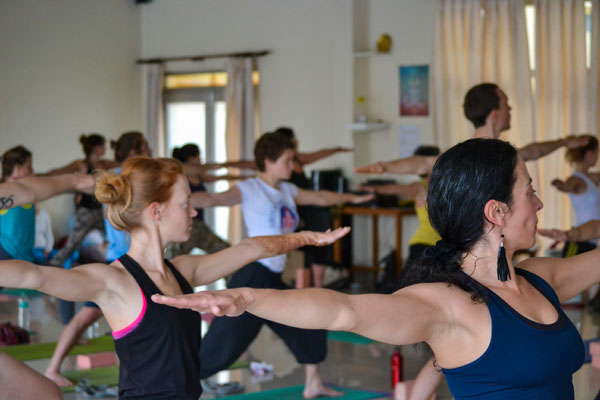 Yoga Course in India 200 hour Hatha Yoga Class