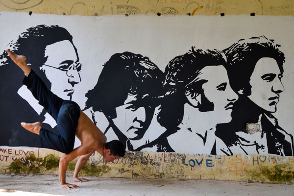 Yoga Retreat in India Rishikesh Beatles Ashram