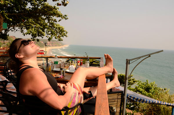 Yoga retreat in India chill time for yourself