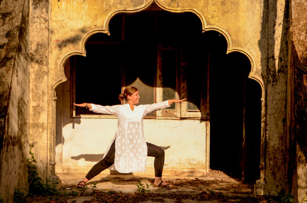 Yoga retreat in India pic time