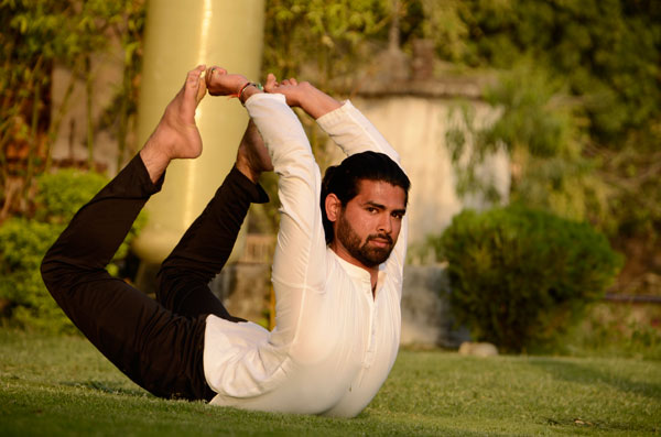Yoga retreat in Rishikesh Teacher Anup